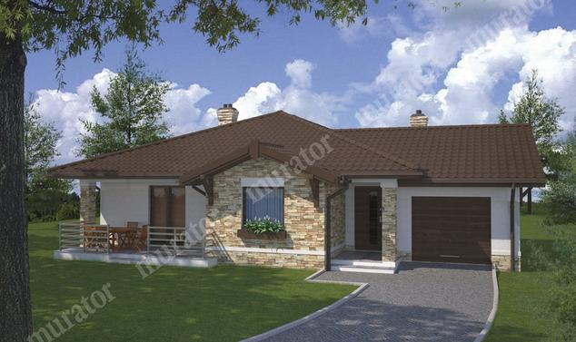 Projekt domu:  Murator C126   – Dom vis-à-vis
