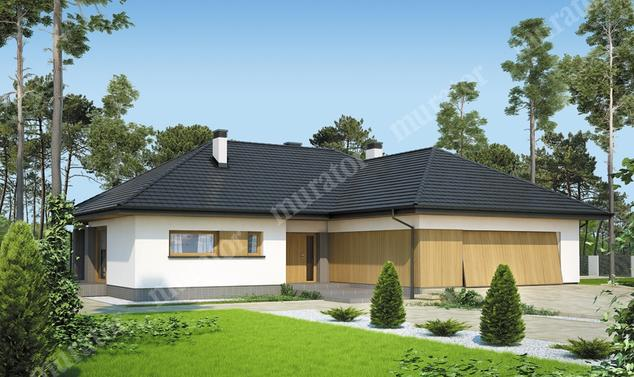 Projekt domu:  Murator M176   – Nowe możliwości